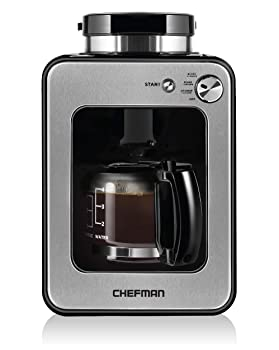 Chefman 4-Cup Coffee Maker and Grinder