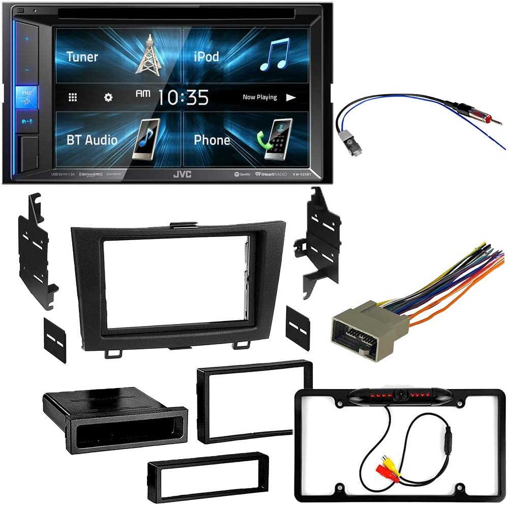 5Item Backup Camera 2011 Honda Civic Double Din Dash Mounting Kit Compatible with 2006 Bluetooth Touchscreen CACH/É KIT2858 Bundle with Complete Car Stereo Installation Kit with Receiver