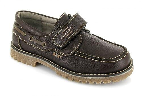 Pablosky, 650994, Nautico marron oscuro de Niños, talla 37: Amazon.es: Zapatos y complementos