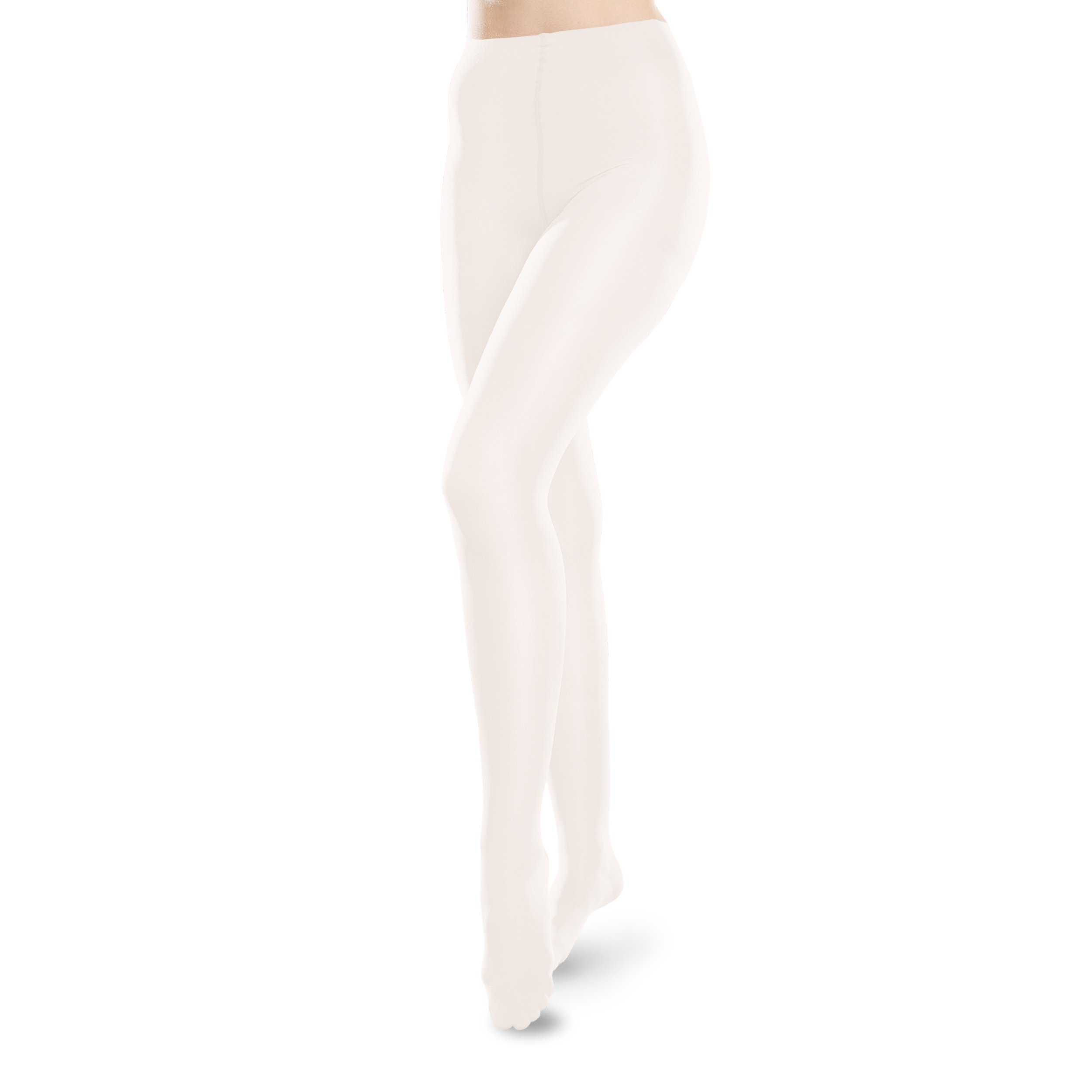 Ease Pantyhose - 15-20mmHg Medical Compression Tights (Winter White, L Long)
