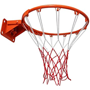Aoneky Aro de Baloncesto con Red - Estándar Profesional 45 cm ...