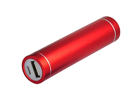 Amazon.com: Bold 2600 mAh Lipstick Power Bank Cargador de ...