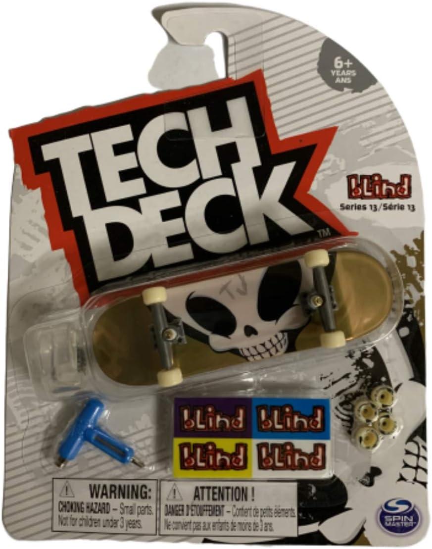 Amazon Com Tech Deck Mini Fingerboards Series 13 Blind Toys Games