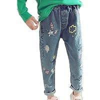 Jeans para Niñas Niños Pantalones Jeans Flacos Vaqueros Leggings Mezclilla Pantalones