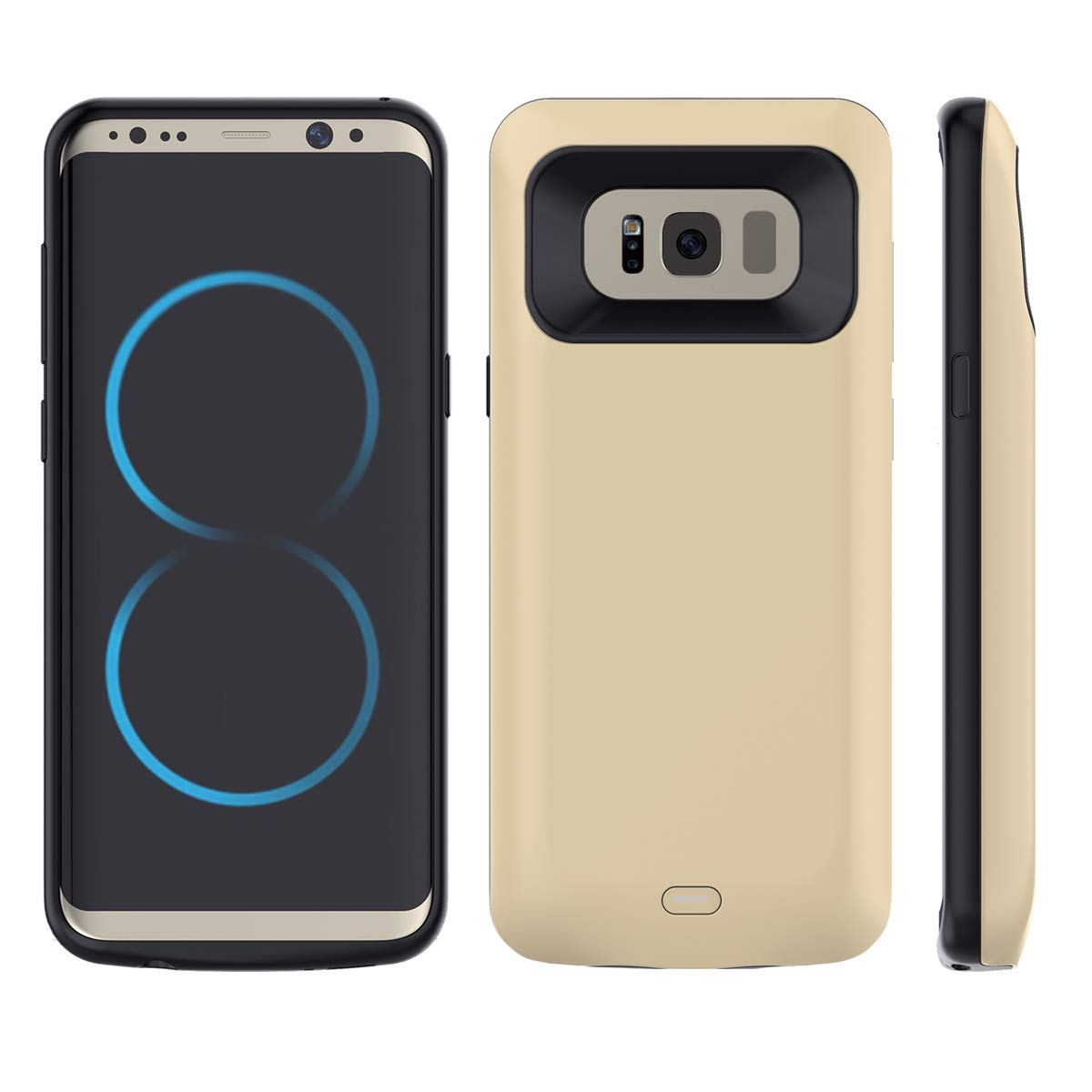 Torubia Huawei P10 Battery Rechargeable Battery Case Charger Cover, Shake Dust Dirt Proof Huawei P10 Battery - Golden