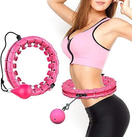 Lureshine Hula Hoop Auto-Spinning Hoop Einstellbar Breit Hula Hoop Reifen  Fitness mit Massagenoppen dünner Bauch abnehmbar,für Laufsport,  Fitnessgerät, Gesundheitsmassage: Amazon.de: Sport & Freizeit