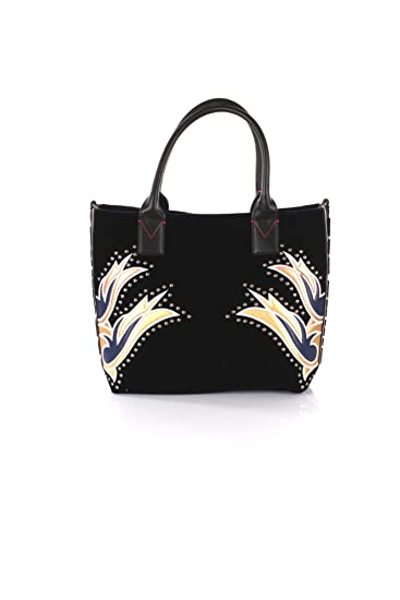 9595df23ee9ff Pinko 1h20hs-y4pv Shopping Bag Women Blue TU  Amazon.co.uk  Clothing