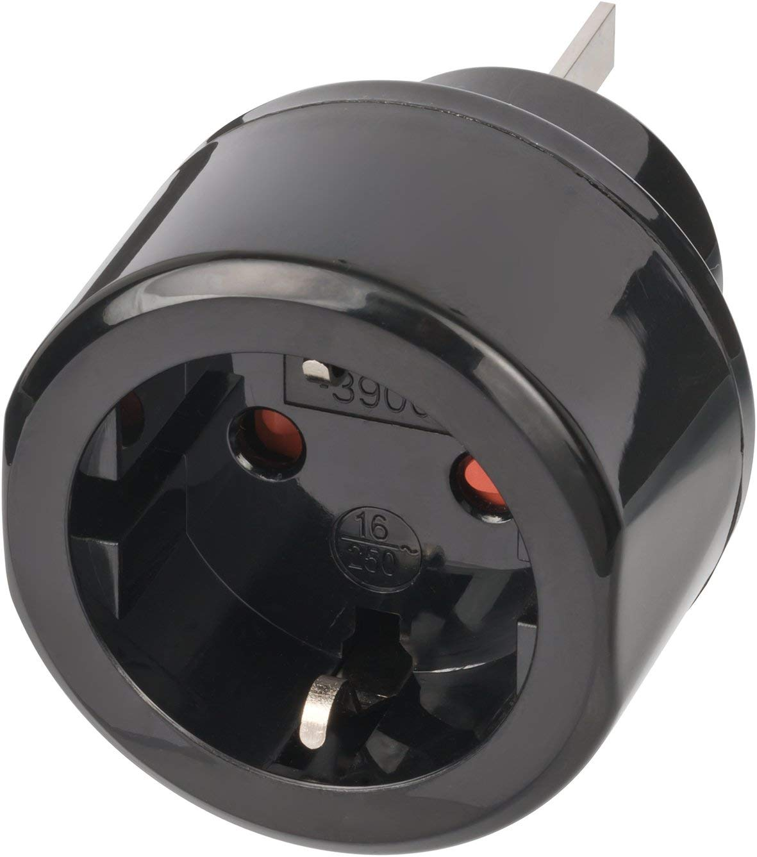 Brennenstuhl 1508440 Adaptador de Enchufe el/éctrico Adaptador para Enchufe