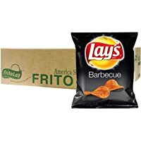 Lay's Barbecue Potato Chips, 28.3g (Pack of 45) - Carton