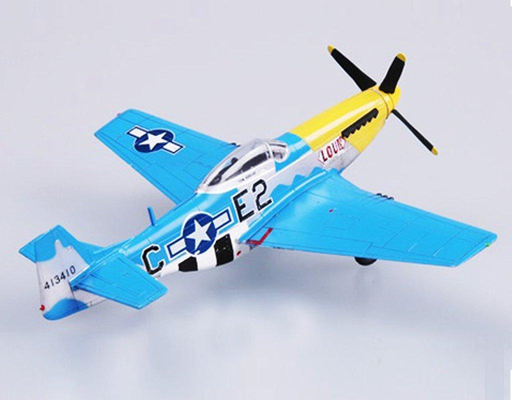 Amazon.com: WWII US aviones 1/72 P51 Mustang Fighter avión ...