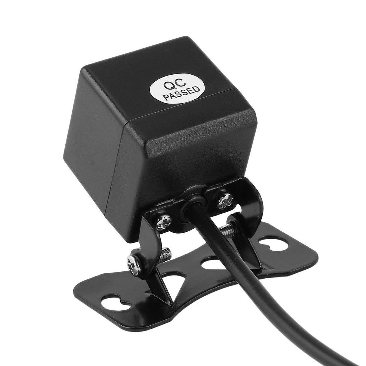 2.4G Transmisor inalá mbrico y Adaptador de Receptor + Impermeable 4 LED Luz Cá mara de visió n Trasera Instalació n fá cil Tellaboull