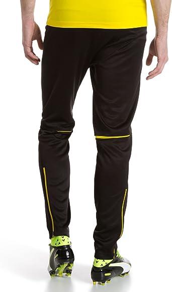 PUMA BVB Trainings Pantalones, Hombre: Amazon.es: Deportes y aire ...