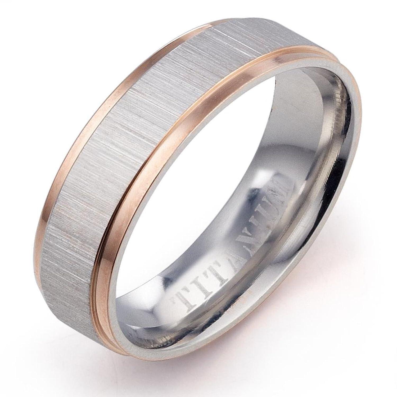 Gemini Groom Bride Muti Tone Rose Gold Silver Couple Promise Anniversary Wedding Ring Valentine Day Gift