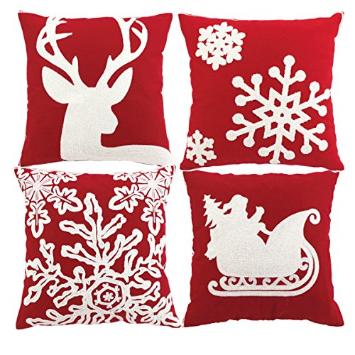 Sykting Embroidery Pillow Christmas Decorative product image