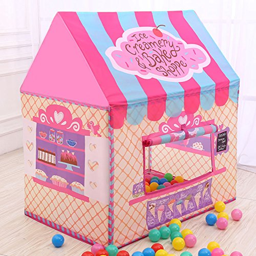 Kids Playhouse Tent, Ball Pit Play House for Happy Children