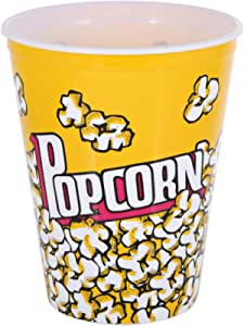 Liying Plastic Large Popcorn Cup, Yellow