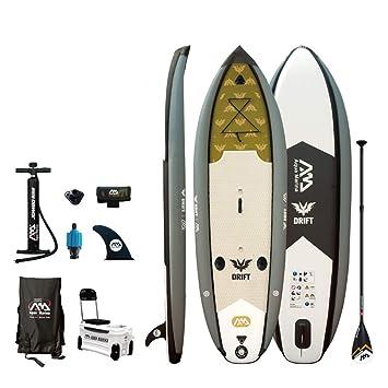 GAOXQ Kit de tabla de surf con soporte y bomba de aire manual con manómetro de