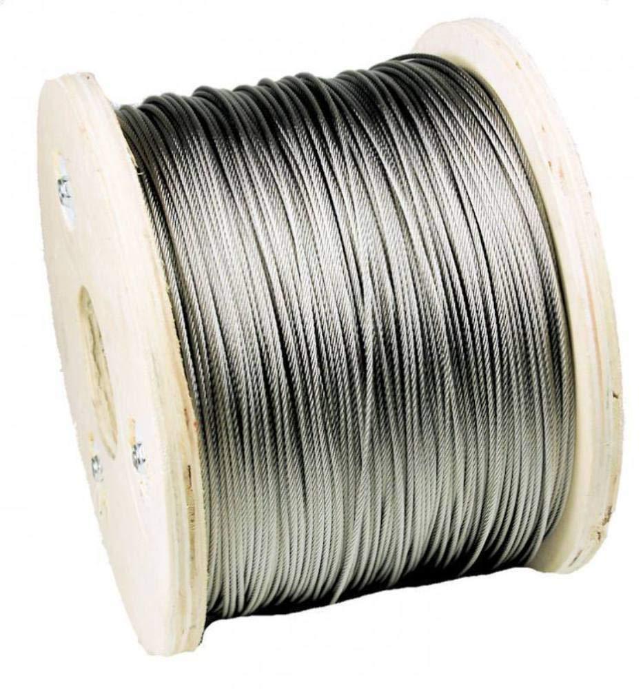 Wnr.2.0090 Stainless Steel Wire Rope 1-100 Metres Diameter 3 mm Stainless Steel Wire Steel Cable