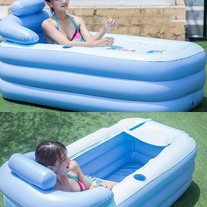 Amazon.com: Bañera hinchable de doble uso para adultos ...