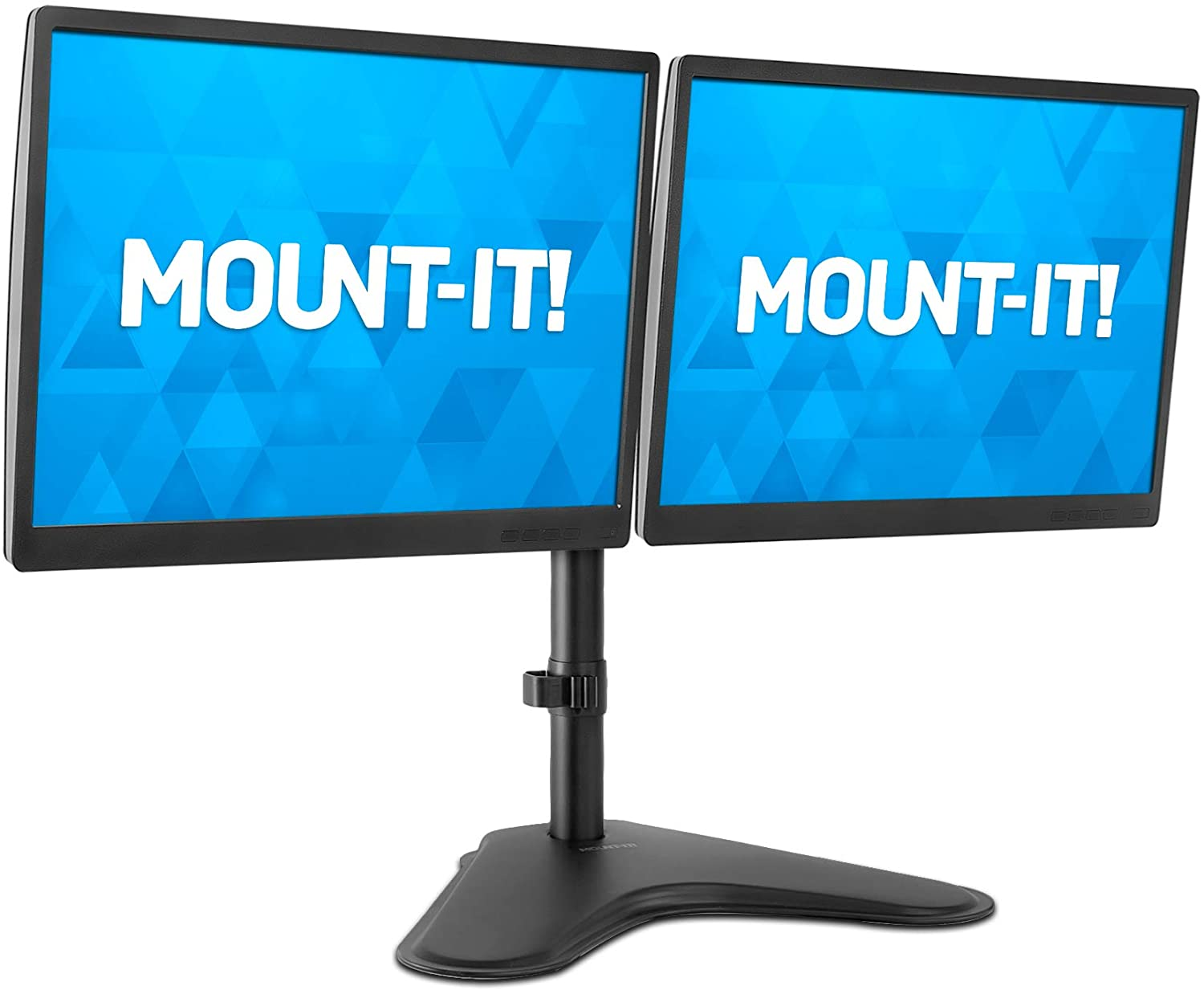 Mount-It Dual Monitor MountDouble Monitor Desk Stand2 Computer Screens