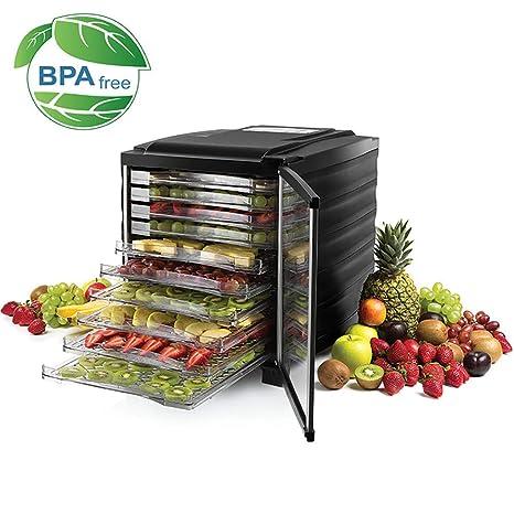 Deshidratador Alimentos Acero, Secador De Frutas Inteligente ...