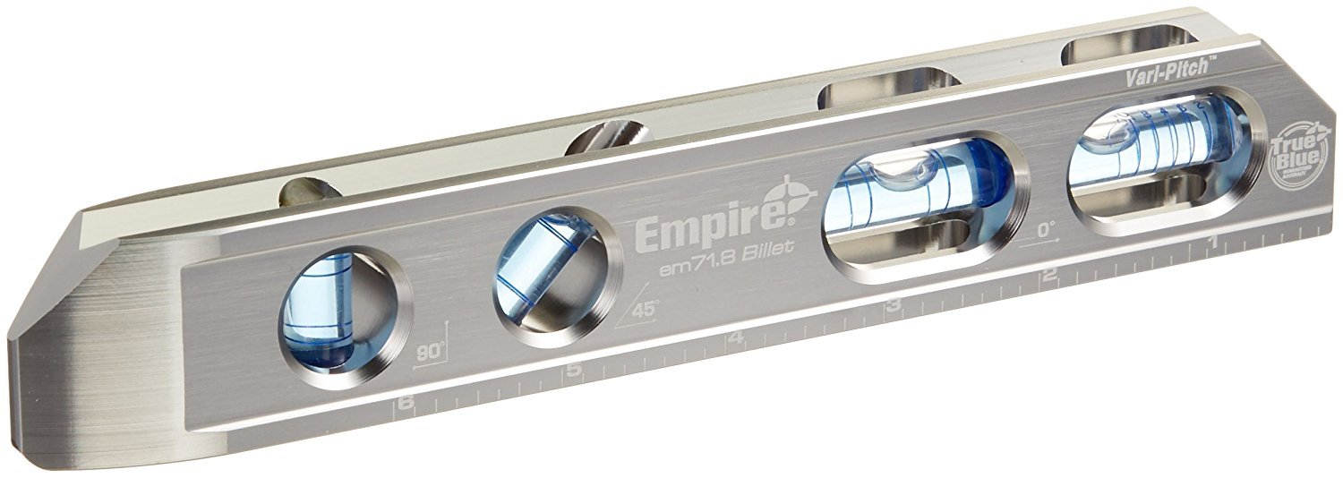 EMPIRE. EM71.8 Professional True Blue Magnetic Box Level, 8'' (Limited Edition)