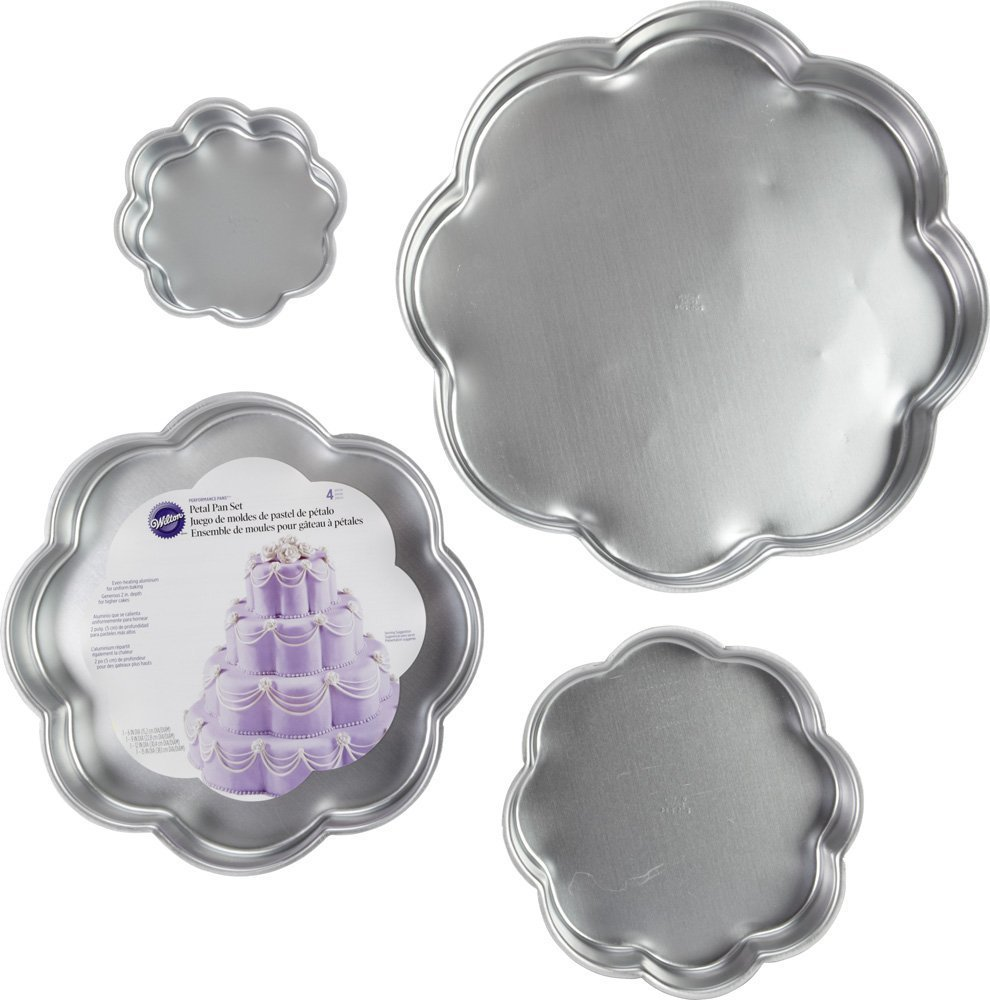 Wilton Performance Pans Small Round Cake Pan Set; 4-Piece 2105-2101