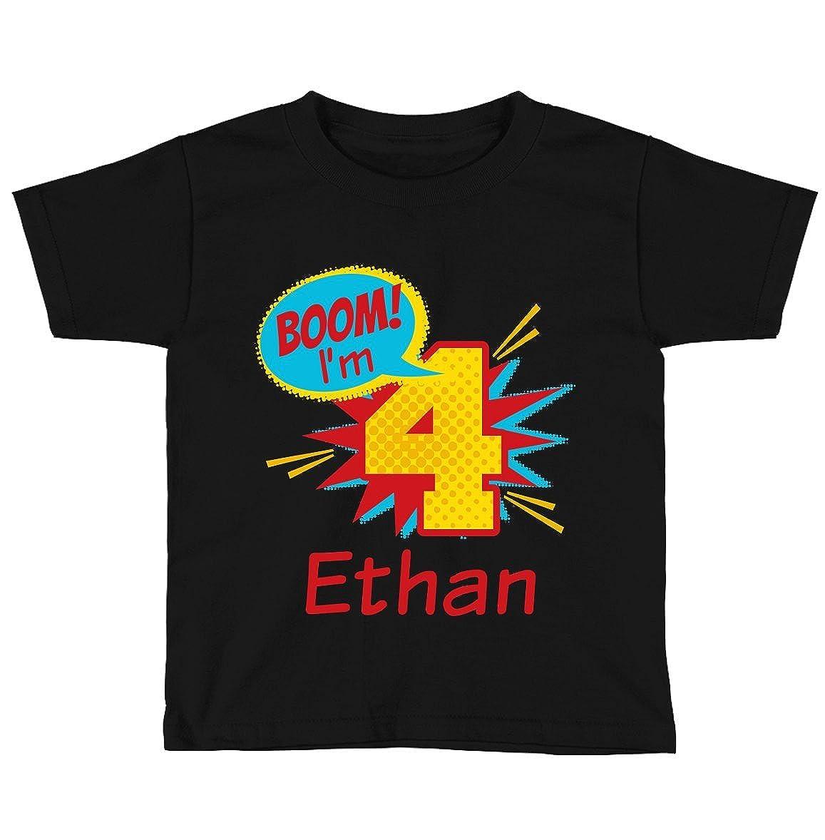 Amazon Blu Magnolia Co Boys Superhero Birthday Shirt Any Age