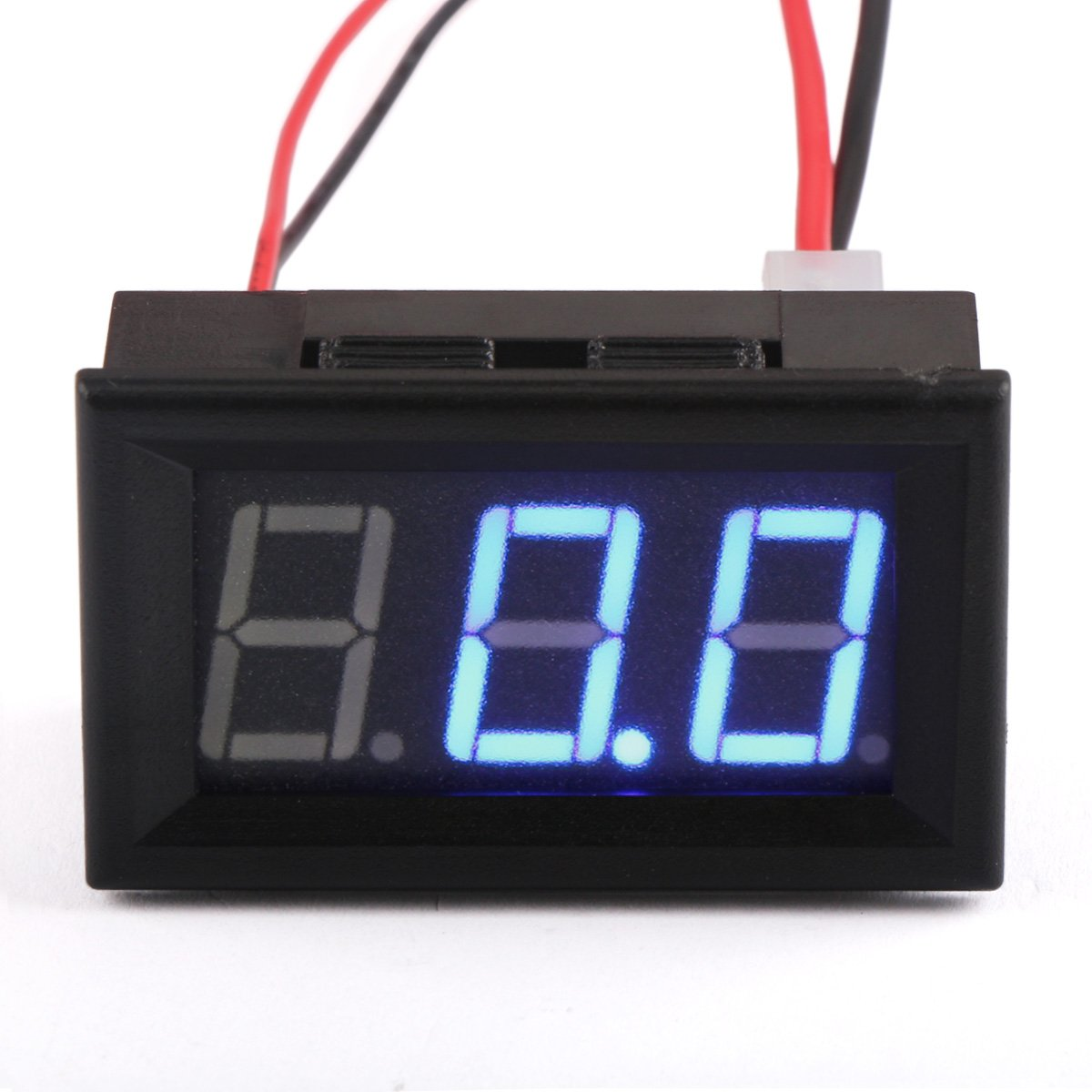 Dc Amp Meter Drok Small Digital Ammeter Gauge Ampere Panel Wiring Diagram Free Picture Reader 056 100a Electric Current Detector 0 To 999a Amperage Tester Blue Led