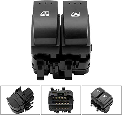 ELECTRIC WINDOW CONTROL SWITCH BUTTON FRONT RIGHT FOR RENAULT 19