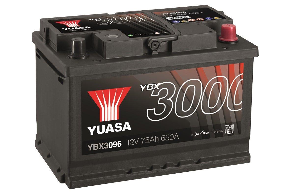 YUASA - BATTERIE YUASA 12V 75AH YBX3096