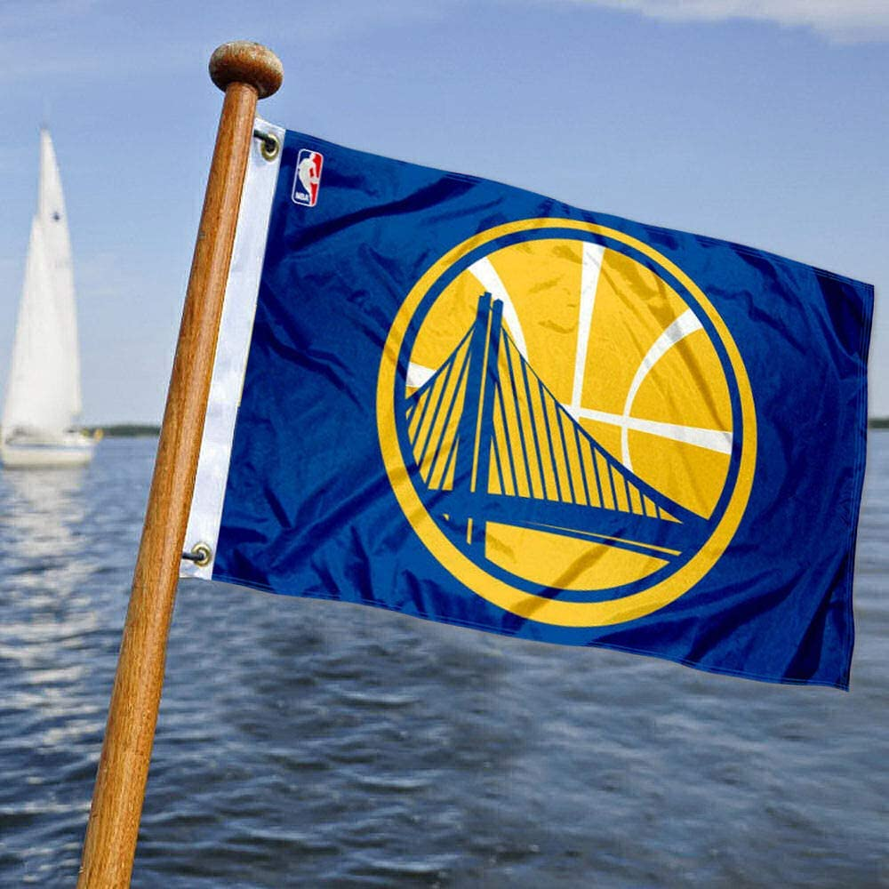 Wincraft Golden State Warriors Barco y Bandera de Carro de Golf: Amazon.es: Deportes y aire libre