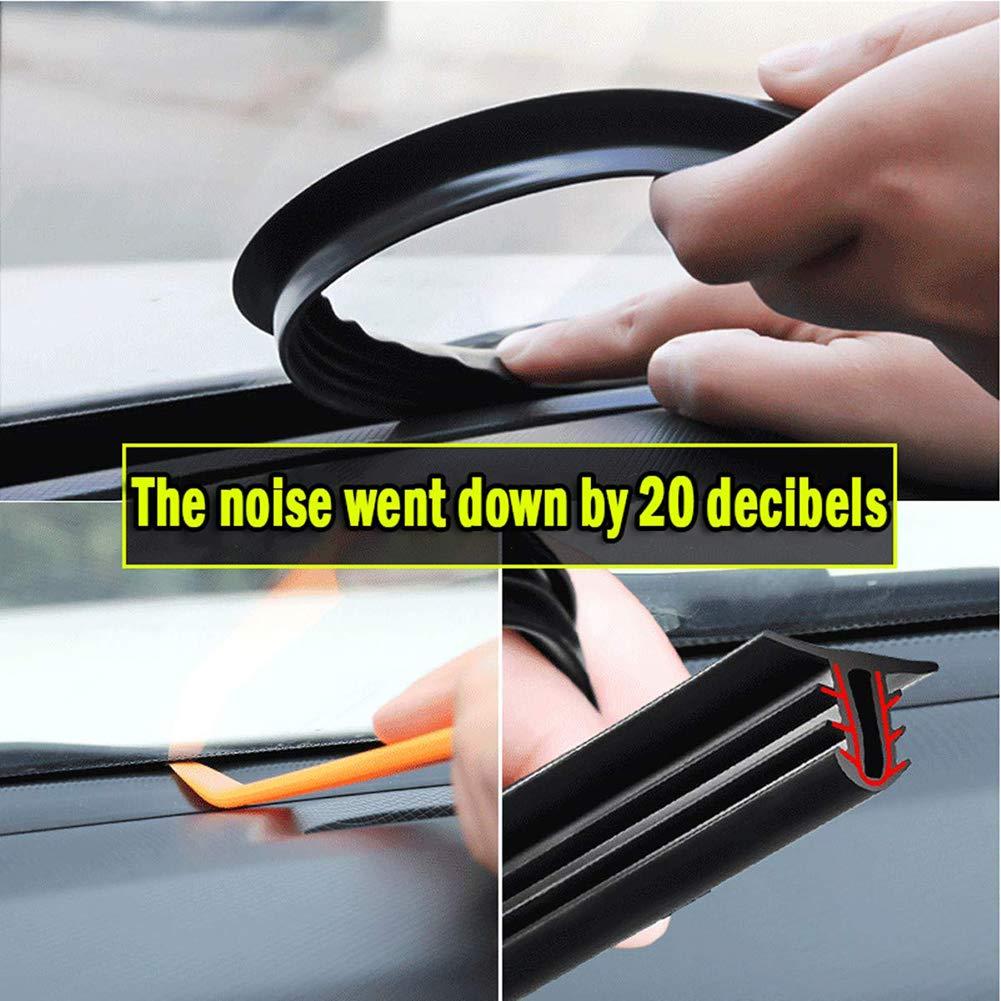 U-Form Edge Schutz Dichtung Streifen Auto Gummidichtung Gummi Kantenschutz Kylewo 1,6m Autot/ür Kantenschutz Gummi Streifen Kantenschutz