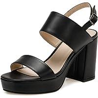 20S-360 Siyah Kadın Sandalet