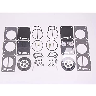 New 2 sets Twin Carburetor Carb Repair Rebuild Kits for Mikuni SeaDoo 50 717 720 787 800 SP GS GTX HX XP SPX GTS: Automotive