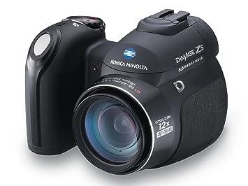 konica minolta dimage z5 5mp digital camera with 12x anti shake zoom - Minolta Digital Camera