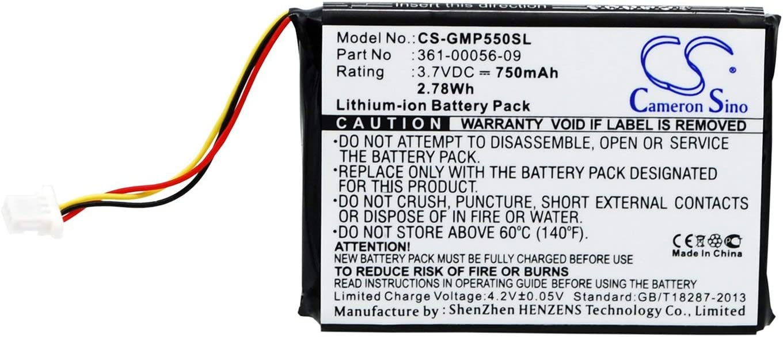 Pro 550 Receiver, VINTRONS Battery for Garmin 010-11925-10 Pro 550 Dog Training