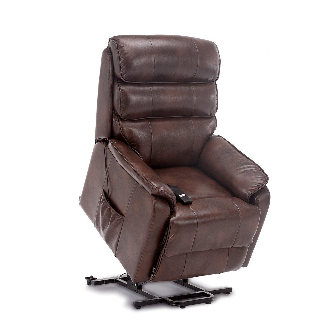 Pleasant More4Homes Buckingham Elecrtic Rise Recliner Leather Air Creativecarmelina Interior Chair Design Creativecarmelinacom
