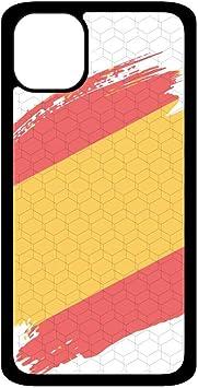 PHONECASES3D Funda móvil Bandera España Compatible con iPhone 11. Carcasa de TPU de Alta protección. Funda Antideslizante, Anti choques y caídas.: Amazon.es: Electrónica