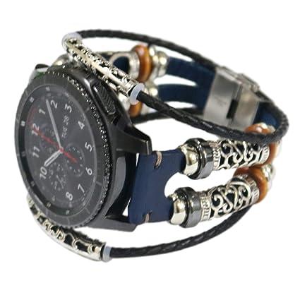Amazon.com: Ajuste para Samsung Galaxy Watch 1.811 in bandas ...