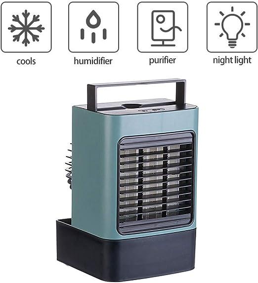 Kacsoo Enfriador de Aire Personal Ventilador portátil de Gran ...