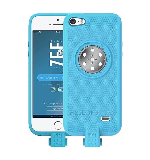 best website 9a66c dfe30 Amazon.com: HelloZEE Battery case iPhone 5/5s/SE- Built-In 128GB ...