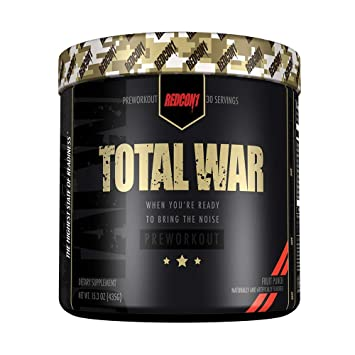 RedCon1 Total War (Newly Formulated)   Pre Workout Energy Powder, Caffeine,  Citrulline Malate,