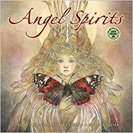 angel spirits 2019 wall calendar the art of sulamith wulfing