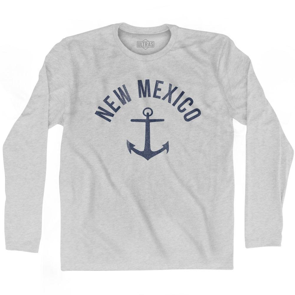 Ultras New Mexico State Anchor Home Cotton Adult Long Sleeve T-Shirt