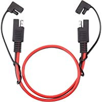 iGreely SAE Power Automotive Extension Cable 2 Pack SAE to SAE Extension Cable Quick Disconnect Wire Harness SAE…