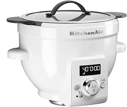 KitchenAid 5KSM1CBEL - Vaso para robot de cocina, 450 W, color blanco: Amazon.es: Hogar