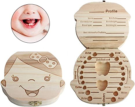 Mallalah Organizador para guardar cajas de Dientes de bebé, Caja ...