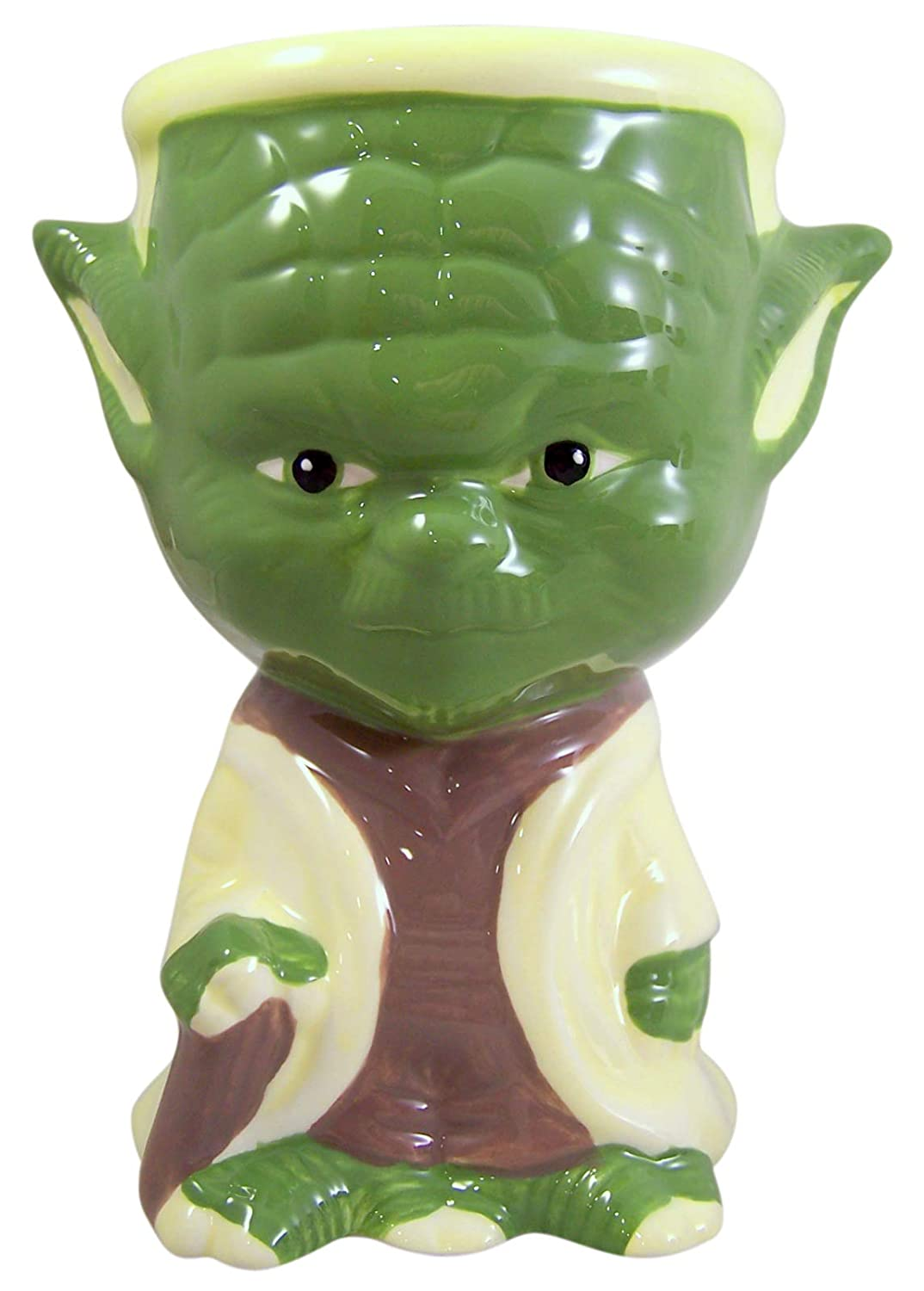10 oz Star Wars Character Shaped Collectible Drink Goblet Cups with Hot Cocoa Mix Pack of 8