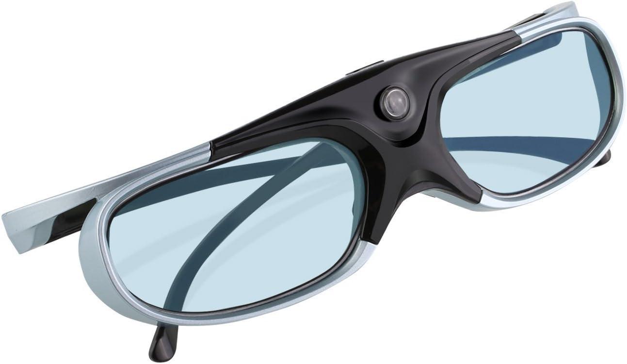 3D Glasses APEMAN DLP Series Glasses Rechargeable Hi-Brightness//Hi-Contrast Compatible with All DLP 3D Projectors